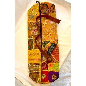 Vintage Addiction NWT Yoga Mat Bag Embellished